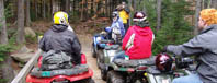 ATV and 4-wheelers rentals and guided tours, 4 wheeling adventure