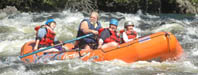 Whitewater rafting in Maine from Greenville and Moosehead Lake on the Kennebec River