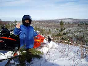 Maine Snowmobile Rentals, Snowmobile lodging in maine